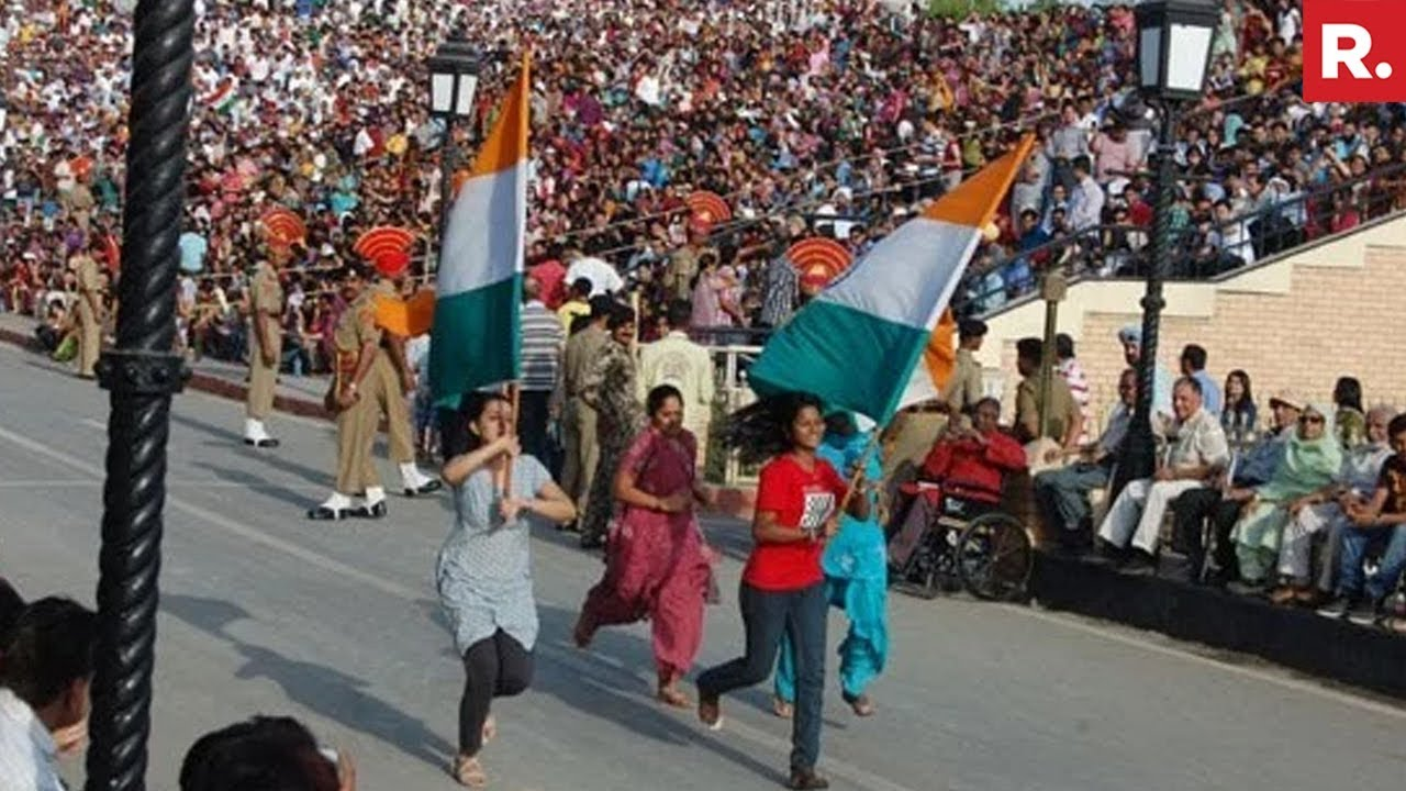 essay on visit to wagah border