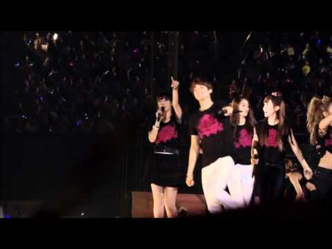 SMTown Live In Tokyo SP ED BoA - Rock With You+Valenti+Hope