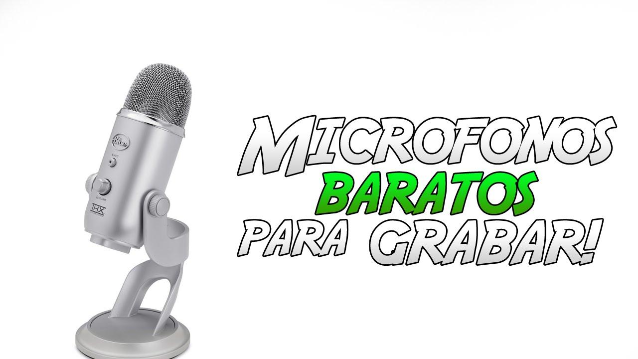microfono gamer barato