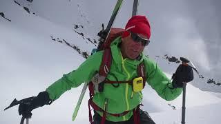 Scimitar Steep Snow Climbing
