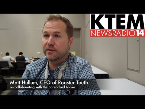 Rooster Teeth's Matt Hullum on Collaborating with Barenaked Ladies