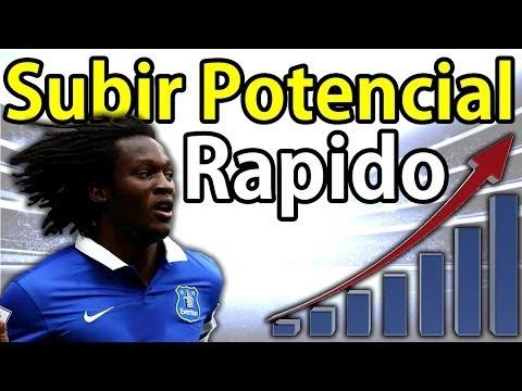 FIFA 17 al 14 Como subir Potencial de Jugadores Rapido? - Modo Carrera