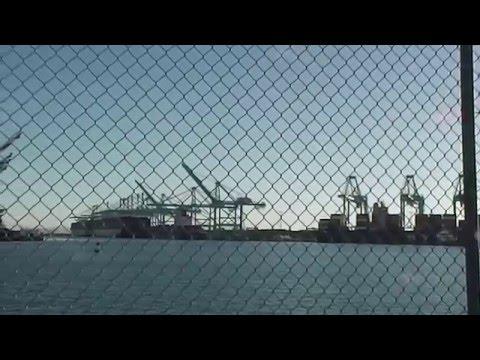 CMA CGM Benjamin Franklin At Pier 400 In The Port Of Los Angeles