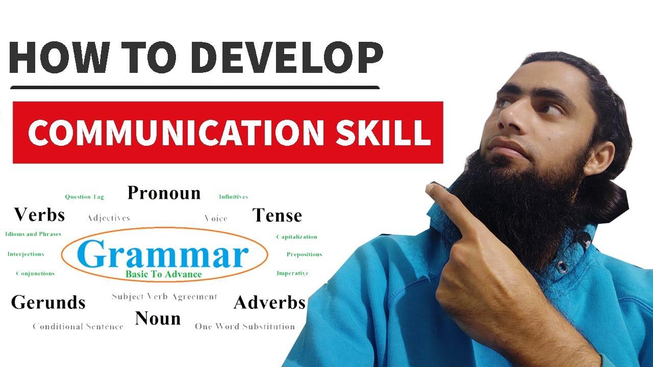 how to develop good communication skills pdf