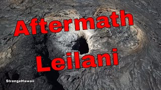 Aftermath of the 2018 Kilauea Volcano Lava Flow Hawaii
