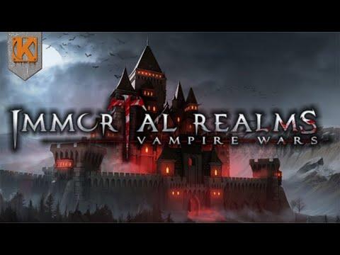 Immortal Realms: Vampire Wars  | TOTAL WAR MEETS VAMPIRES | Gameplay Showcase - Part 1