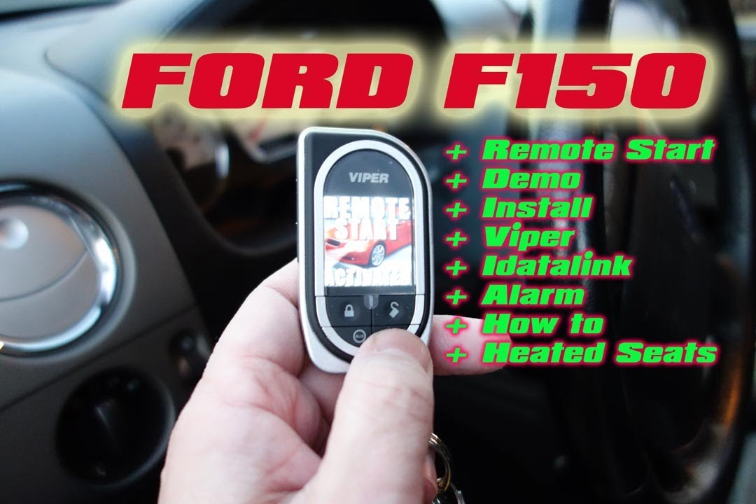 Ford F150 Remote Start Viper, Idatalink Bypass, 5704 Car Alarm