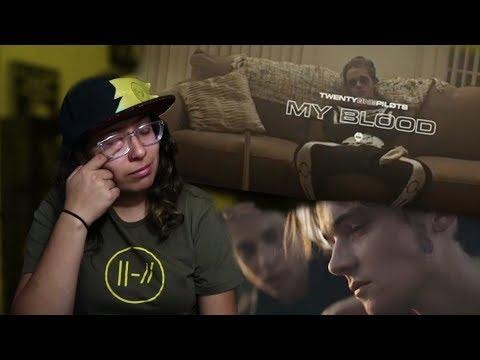 TWENTY ONE PILOTS MY BLOOD MUSIC VIDEO REACTION