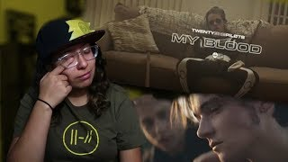 TWENTY ONE PILOTS MY BLOOD MUSIC VIDEO REACTION