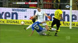 Bundesliga 2015/2016  Borussia Dortmund Vs Darmstadt 2-2 - 7^ Giornata