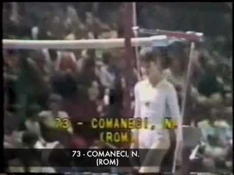 Nadia Comaneci Bars 1976 - ALL BAR EVENTS