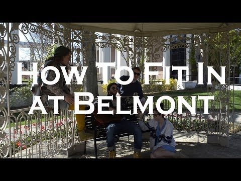 How to Fit In at Belmont University