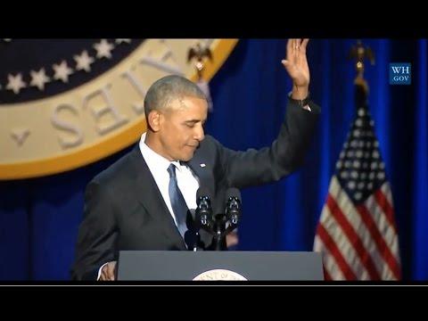 Obama's Farewell Address-Full Speech