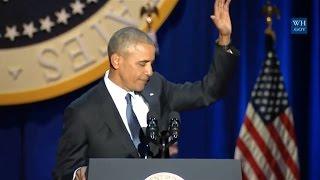 Obamas Farewell Address-Full Speech