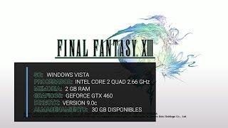 Vídeo Final Fantasy XIII
