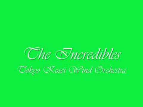 The Incredibles.Tokyo Kosei Wind Orchestra.