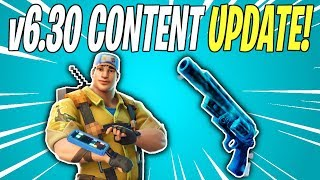 NEW GHOST PISTOL IN WEEKLY STORE! v6.30 Content Update Patch Notes | Fortnite Save The World News