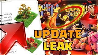 HIDDEN UPDATE LEAK Lunar New Year 2019 Clash Of Clans! | FORTUNE TREE & FIREWORK Obstacle Removal