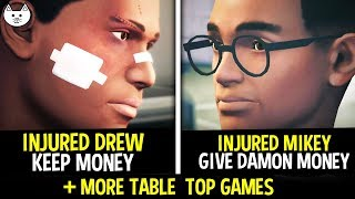 Injured Drew VS Injured Mikey + MORE TABLE TOP GAMES - Life Is Strange Before the Storm Episode 3