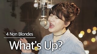 Download Lagu (+2 key up) What's Up- 4 Non Blondes cover | bubble dia mp3