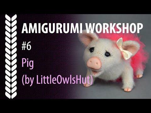 Crochet Animals Little Piggy Amigurumi Tutorial - Part 1 - Craft ... | 360x480