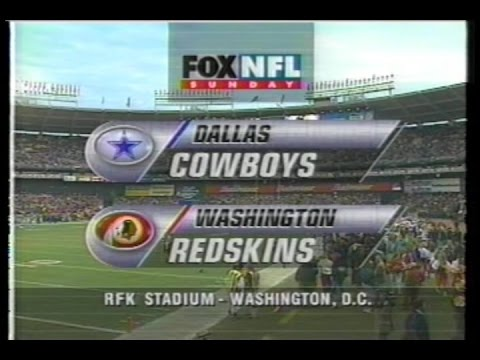 NFL on FOX - 1996 Week 17 Cowboys vs Redskins - Game Intro