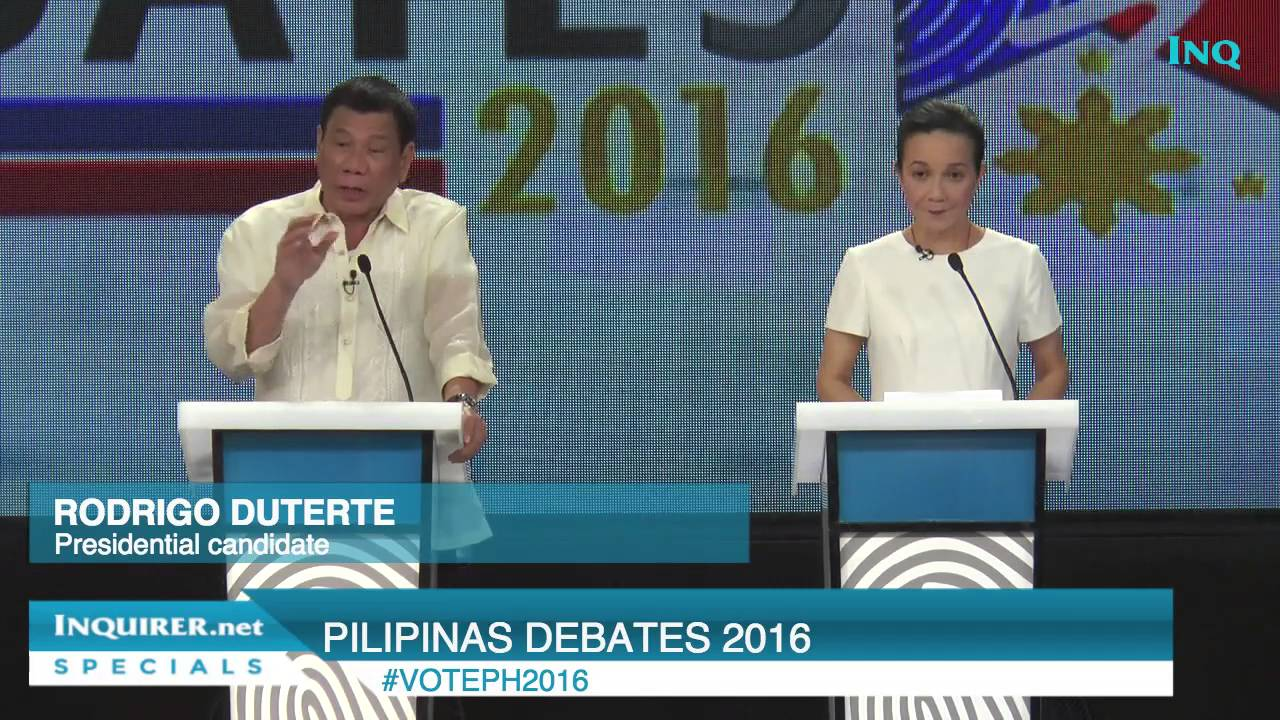 Poe Mindanao Peace Includes All Duterte Federalism Is Solution