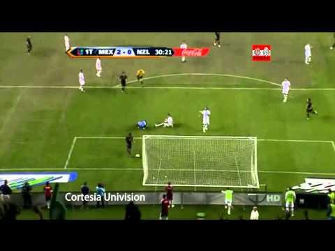 Mexico vs Nueva Zelanda Amistoso 2011 (3-0)