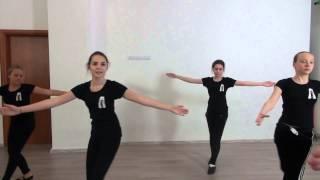 Студия Актер  Окрытый урок  Экзамен по танцу  Педагог  Делятицкая  Г А  6