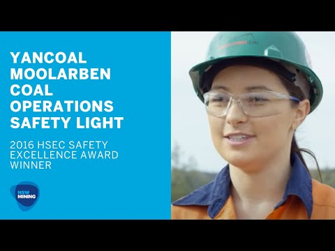 Safety Excellence - Moolarben Coal Operations, Yancoal (Safety Light)
