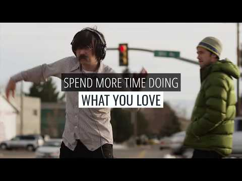 Spend more time doing what you love
