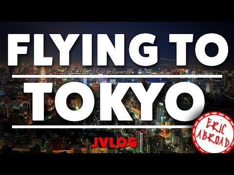 Flying to Tokyo from the U.S. // PRE-STUDY ABROAD JAPAN