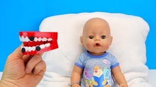 ЗУБЫ СЛАДКОЕЖКИ Куклы Пупсики #Бебибон Игрушки Для детей Играем Как мама 108mamaTV