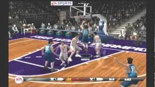 NBA Live 09 FIBA World Championship Argentina vs China video game simulation