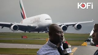 BREAKING; KENNEDY AGYAPONG FLYING OUT OF THE COUNTRY  LIVE ON #KOFITV FROM THE AIRPORT