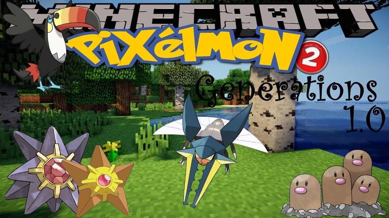 Pixelmon generations mod 1. 10. 2 minecraft how to download and.