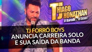 TJ DO FORRÓ BOYS ANUNCIA CARREIRA SOLO E SUA SAIDA DA BANDA