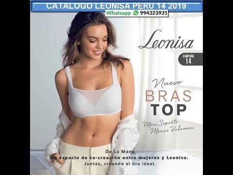 Catalogo LEONISA PERU 14 -2019 ¿Quieres COMPRAR O VENDER? Whatsapp 994323931 -www.catalogosmujer.com
