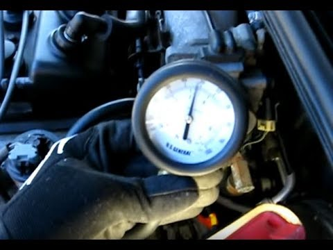 Fuel Pressure Test - YouTube