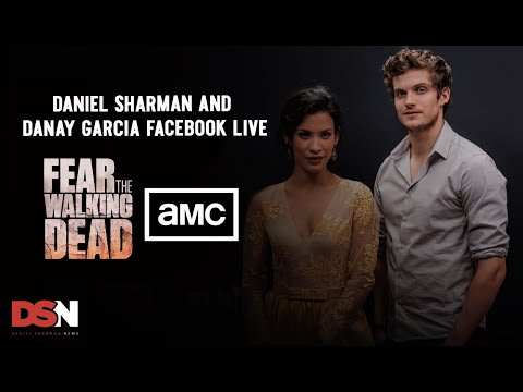 Daniel Sharman and Danay Facebook Livestream - AMC TV UK #FearTWDLondon