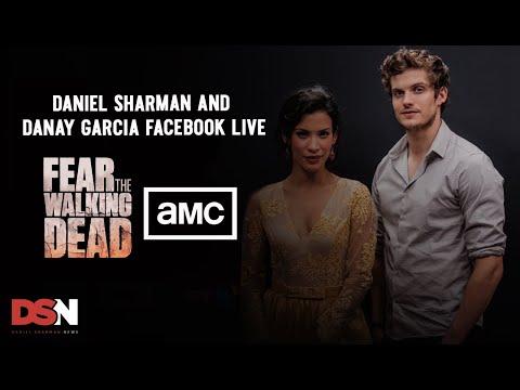 Daniel Sharman and Danay Facebook Livestream  AMC TV UK FearTWDLondon