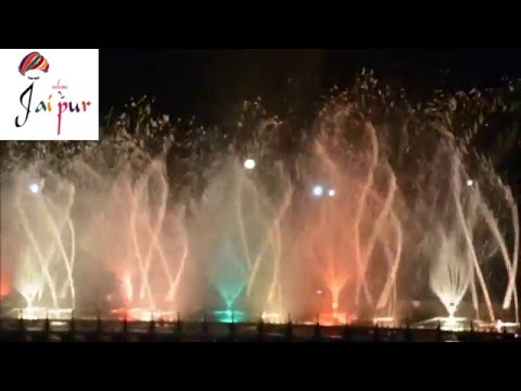 Jawahar Circle Musical Fountain Night Show - Welcome2Jaipur