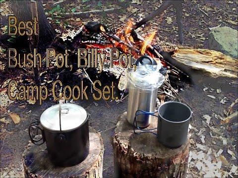Best Bush Pots - Mors Kochanski Bush pot,  Olicamp Nesting Cup