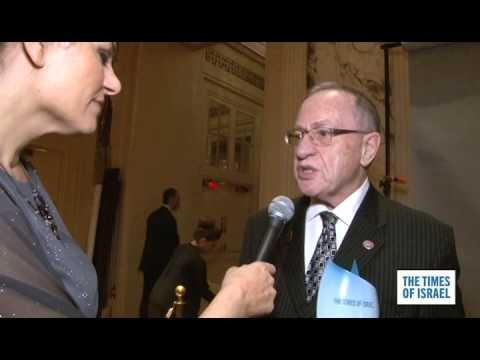 WATCH: Best of The Times of Israel Gala -- Alan Dershowitz on Obama, Iran
