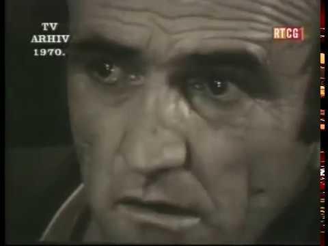 Veljko Mandić TV Arhiv RTCG 1970
