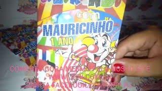 Kit Colorir 10x15 Circo / Palhaço - J