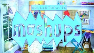 Mash Ups: Doll Art Crafts | Paintings | Art Supplies | Art Museum | Art Room | Craft Room