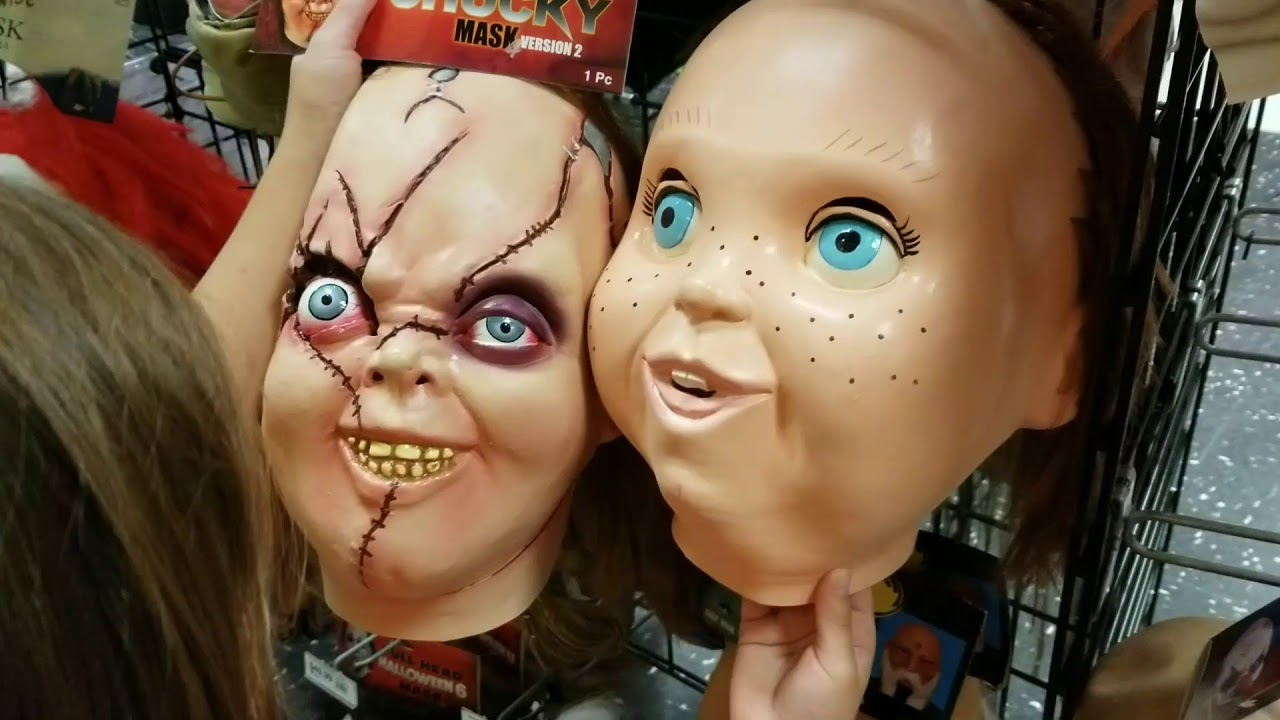 Scary Halloween Masks- Party City 2017 - YouTube
