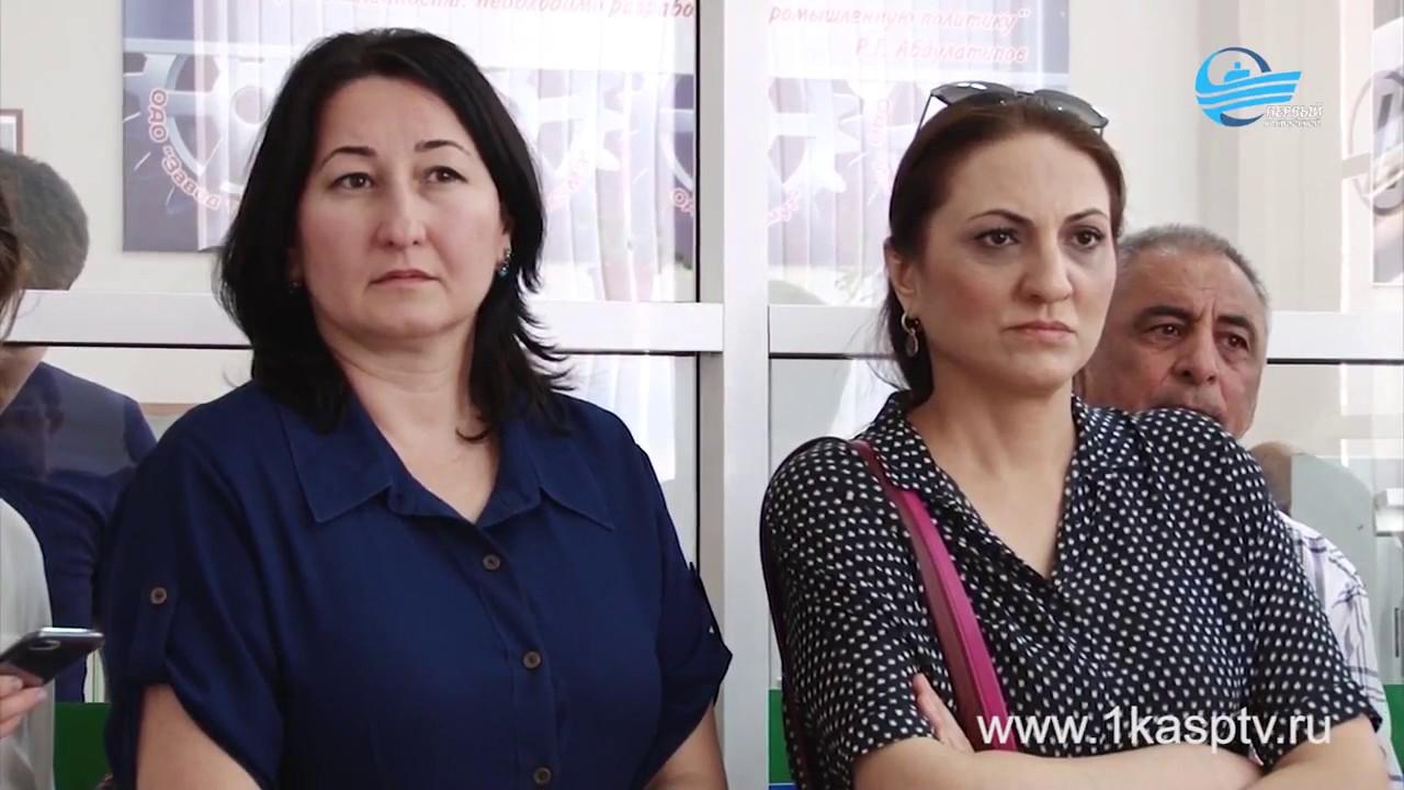 Первый  в Дагестане демонстрационный экзамен был организован  в Каспийске