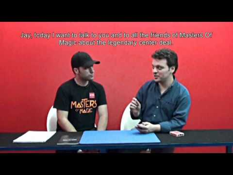 Masters Of Magic - Finding The Center - Jay Di Biase Interviews Antonio Zuccaro